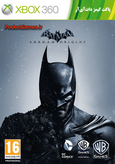 بتمن ریشه‌های آرخام   Batman Arkham Origins (ایکس باکس – XBOX)