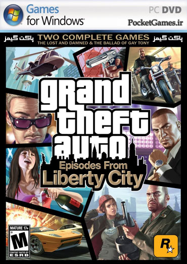 جی‌تی‌ای: شهر آزاد   Gta Episode From Liberty City