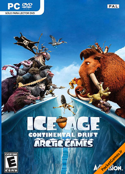 عصر یخبندان ۴ رانش قطب شمال – Ice Age 4 Continental Drift Arctic Games (کامپیوتر – PC)