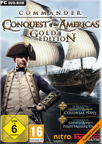 فرمانده فاتح – Commander Conquest Of The Americas Gold Edition (کامپیوتر – PC)