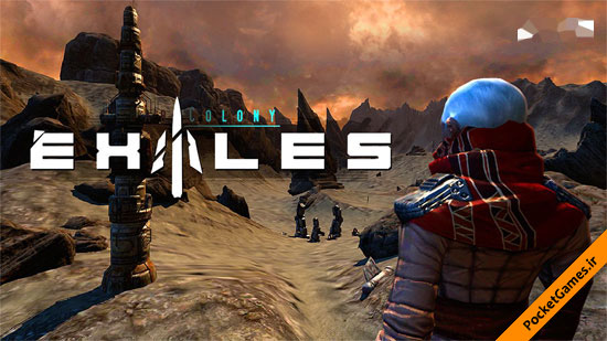 تبعیدیان – Exiles: Far Colony v2.5.1 (آندروید – Android)