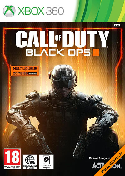 ندای وظیفه عملیات سیاه ۳ – Call Of Duty Black Ops 3 (ایکس باکس۳۶۰ – XBOX360)
