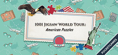 1001 Jigsaw World Tour American Puzzle