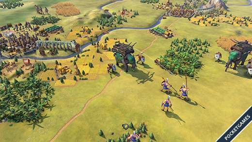 Civilization VI Khmer and Indonesia Civilization3
