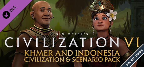 Civilization VI Khmer and Indonesia Civilizationp